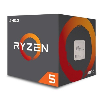 CPU AMD Ryzen 5 2600X (6 Core 12 Threads / 3.6 - 4.2 GHz)