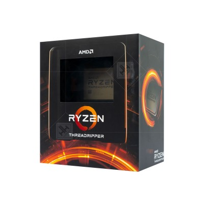 CPU AMD Ryzen Threadripper 3990X (3.0 GHz - 4.5 GHz / 64 Cores 128 Threads / sTR4)
