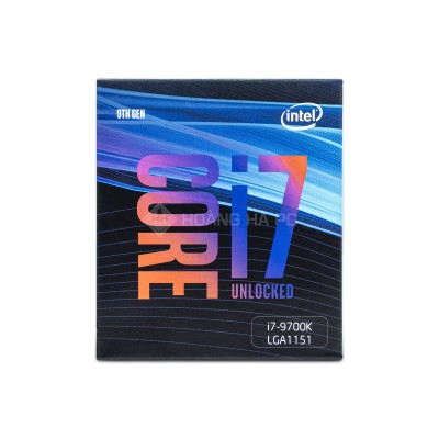 CPU Intel Core i7-9700K (3.6 Upto 4.9GHz/ 8C8T/ 12MB/ Coffee Lake)