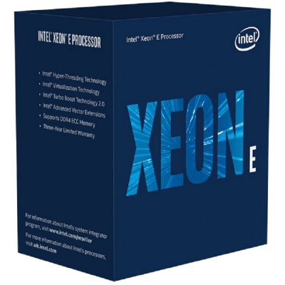 CPU Intel Xeon E-2278G (16MB 3.40GHz up 5.0GHz, 8 nhân 16 Luồng, LGA1151) - Tray