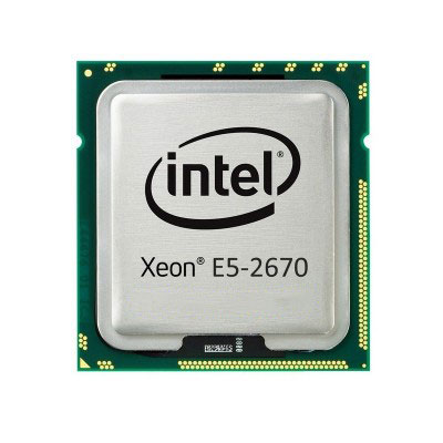 CPU Intel Xeon E5-2670 2.60 GHz / 20MB / 8 Cores 16 Threads / Socket 2011