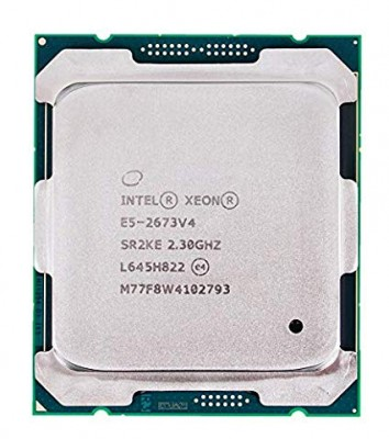 CPU Intel Xeon E5-2673v4 2.3G up 3.3G / 50MB / 20 Cores 40 Threads/ Socket 2011-3