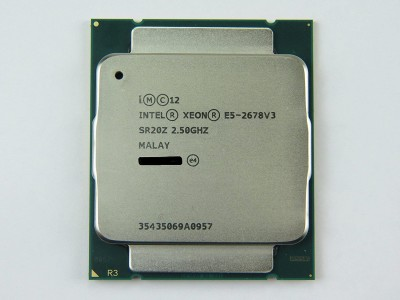 CPU Intel Xeon Processor E5-2678v3 2.50GHz 30M 12Cores