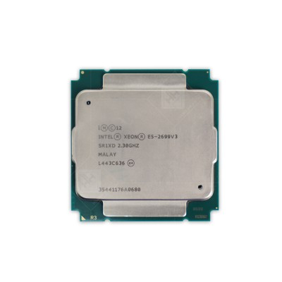 CPU Intel Xeon Processor E5-2699v3 (45M Cache, 2.30 GHz)