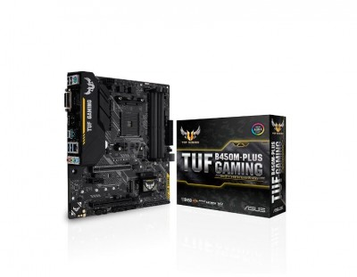 Main Asus TUF B450M-PLUS GAMING (Chipset AMD B450/ Socket AM4)