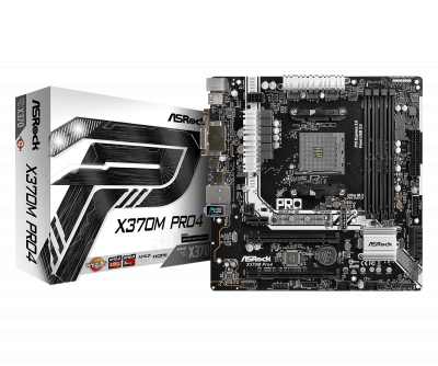 Mainboard Asrock X370M Pro 4 (AMD X370/AM4 Socket)