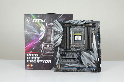 MAINBOARD MEG MSI X399 CREATION