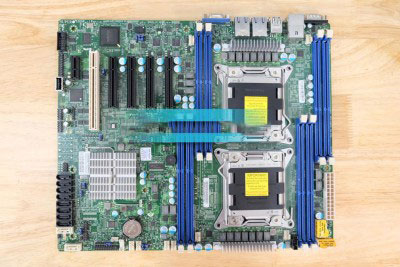 SUPERMICRO X9DRL-iF ( DUAL CPU Server / Workstation )